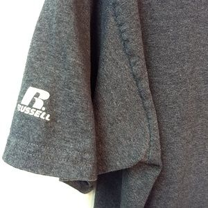 Russell Athletic Shirts - Russell Short Sleeve Tee Grey Gray Size M